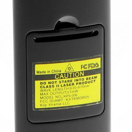 Presentador Inálambrico KPS-006 Kommander marca Klip Xtreme color Negro