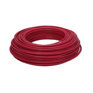 Cable Audiopipe Primario Cal. 16 Rojo 100'