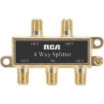 SPLITTER RCA  4 VIAS BLISTER