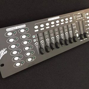 Controlador DMX marca ZEBRA de 16 Canales