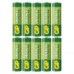 Baterías AAA 1.5V Green Cell Cartón 10 Piezas Marca GP