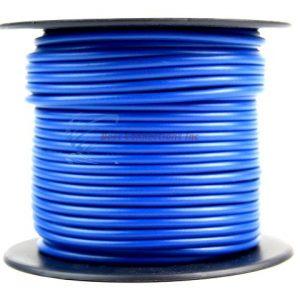 Cable audiopipe primario calibre 16 Azul 100'