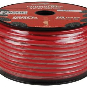 Cable Audiopipe Primario Cal. 14 Rojo 100'