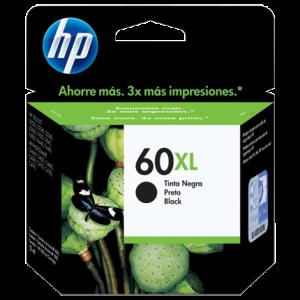 Cartucho HP 60XL Color Negro