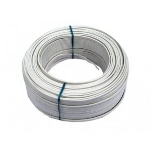 Cable Audiopipe Primario Cal. 14 Blanco 500'