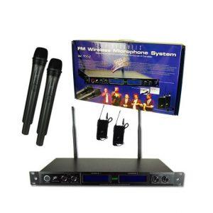 Micrófono Zebra UHF 740-840MHz 4 canales