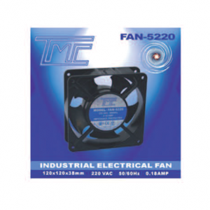Ventilador TMC repuesto 5 aspas/220v