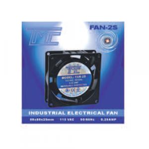 Ventilador TMC 80X25mm delgado 5 aspas 110vac, 0.25A