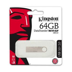 Memoria USB Kingston DT SE9 G2 64GB Color Plateado