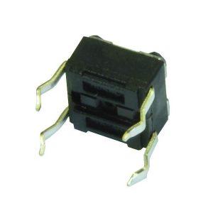 Switch Mini 4 Patas/Boton/3.5mm/Cuadrado
