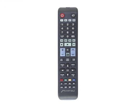 Control remoto universal Mitzu para TV, DVD, Blue-Ray, home theater