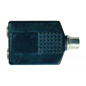 Plug N.A. RCA Hembra A ¼ Hembra Doble