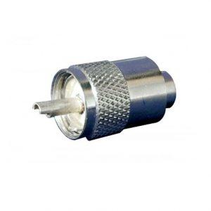 Plug coaxial N.A. para RG-58