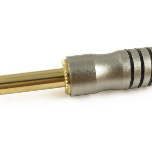 Plug TMC 1/4''  mono, mediano con baquelita