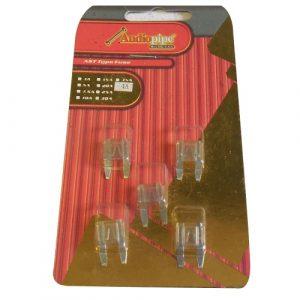 Fusible Audiopipe mini 4 amperios 5 piezas