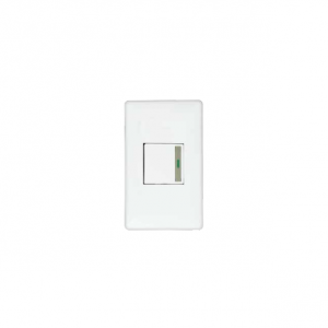 Placa Mitzu Switch 3 Vias 110-250V 10A, Blanco