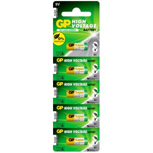 Bateria GP Alkalina 29A 9V (32A EQ) Carton 5 piezas