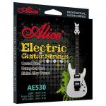Set de Cuerdas para Guitarra Eléctrica de Acero Niquelado marca Alice