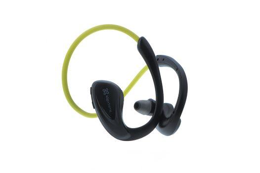 Audífonos Bluetooth Deportivos KHS-634 marca Klip Xtreme color Amarillo