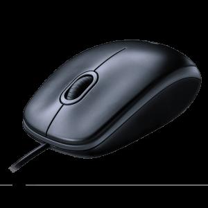 Mouse Alambrico Logitech M100 Color Negro