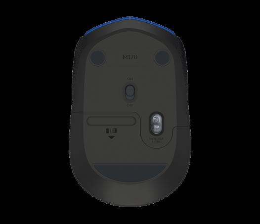 Mouse Inalambrico Logitech M170 Color Azul