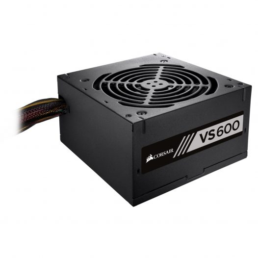 Fuente de Poder Corsair 600W 80 Plus White