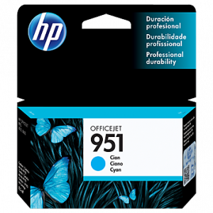 Cartucho HP 951 Color Cian