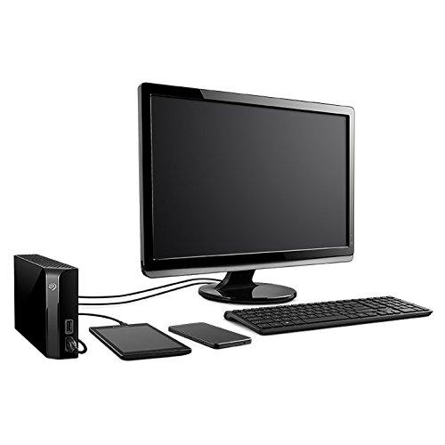 Disco Duro Externo Seagate BackUp Plus 6TB Con Hub Color Negro