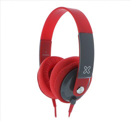 Klip Xtreme Audífonos Obsession KHS-550RD Color Rojo