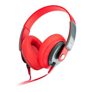 Audífonos Obsession marca Klip Xtreme KHS-550RD Color Rojo