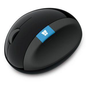 Mouse Inalambrico Microsoft Sculpt Ergonomico Color Negro