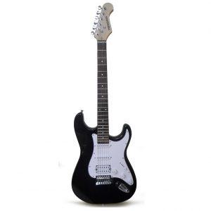 Guitarra Eléctrica marca Hendrix color Negro Tipo TC con Estuche