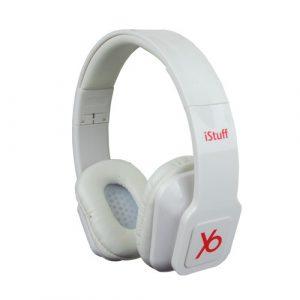 Audífonos Istuff Blanco Plegable 3.5mm