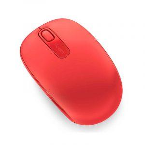 Mouse Inalambrico Microsoft Mobile 1850 Color Rojo