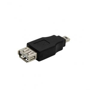 Adaptador USB 2.0 Hembra a Mini USB macho