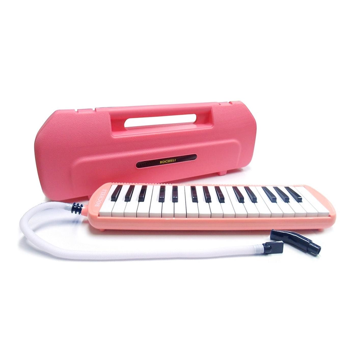 Melodica Bocheli de 32 notas rosa