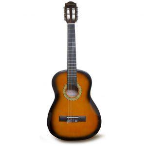 """Guitarra para Niño 30"""" marca Valenciana Color Sunburst con Estuche"""