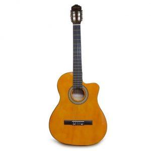 Guitarra Electroacústica Valenciana Yamaha con estuche