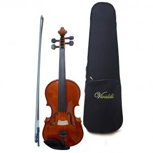 Violín Vivaldi 4/4 con estuche satinado