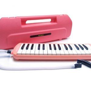 Melodica Bocheli de 32 notas rosada