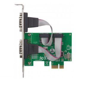 Tarjeta PCI Manhattan con 2 puertos serial DB9