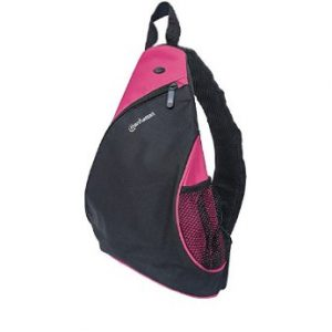 "Mochila para Laptop Manhattan dashpack de 12"" Color Negro/Rosado"