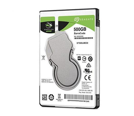 "Disco Duro Interno para Laptop Seagate 500GB 2.5"" SATA"