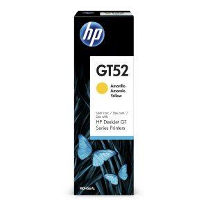 Botella de Tinta HP GT52 de 70ml color Amarillo
