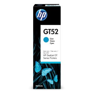 Botella de Tinta HP GT52 de 70ml color Cian