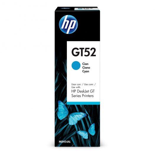 Botella de Tinta HP GT52 de 70ml color Cian