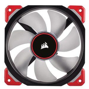 Ventilador Corsair case ml120 120mm pro led red