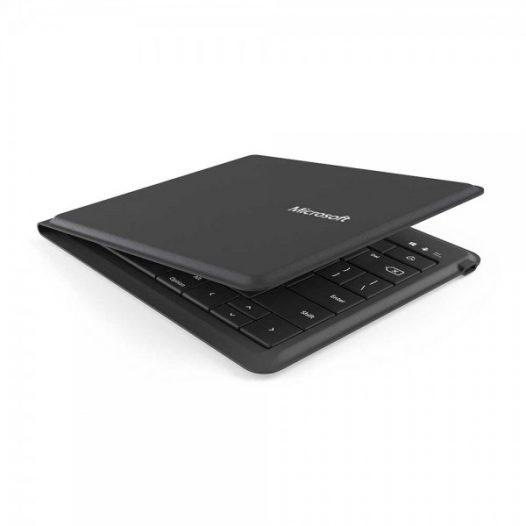 Teclado bluetooth Microsoft plegable en español color negro