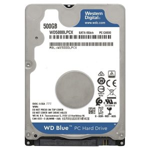 "Disco duro 2.5"" Para Laptop Western Digital 500GB"