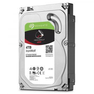 Disco duro interno Seagate Ironwolf 4TB  para NAS SATA 6GB/s 64MB